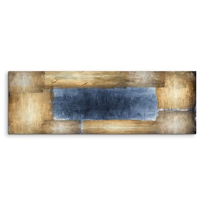 PaulSinusArt Enigma Panorama Abstrakt 781 Painting Print on Canvas