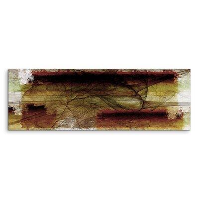 PaulSinusArt Enigma Panorama Abstrakt 1013 Painting Print on Canvas