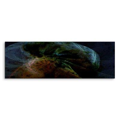 PaulSinusArt Enigma Panorama Abstrakt 1015 Painting Print on Canvas
