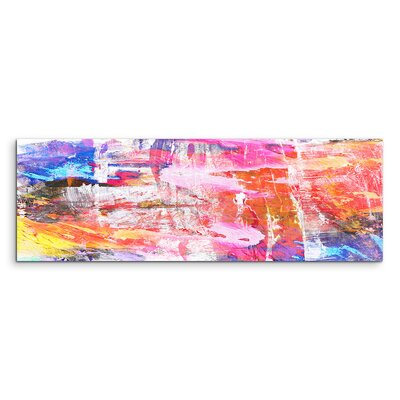 PaulSinusArt Enigma Panorama Abstrakt 935 Painting Print on Canvas