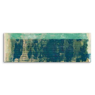 PaulSinusArt Enigma Panorama Abstrakt 940 Painting Print on Canvas