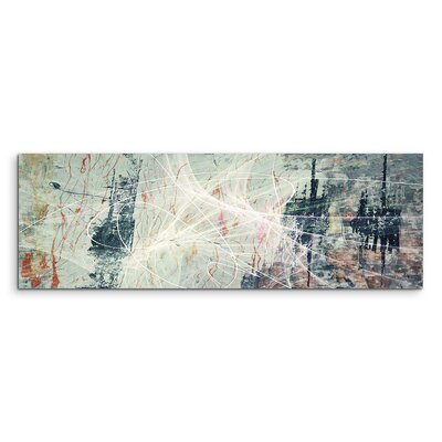 PaulSinusArt Enigma Panorama Abstrakt 1220 Painting Print on Canvas
