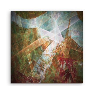 PaulSinusArt Enigma Abstract 1200 Photographic Print on Canvas