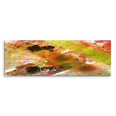 PaulSinusArt Enigma Panorama Abstrakt 948 Painting Print on Canvas