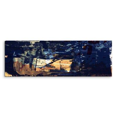 PaulSinusArt Enigma Panorama Abstrakt 950 Painting Print on Canvas