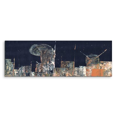 PaulSinusArt Enigma Panorama Abstrakt 951 Painting Print on Canvas