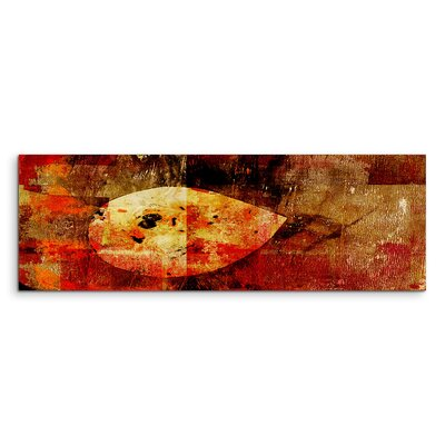 PaulSinusArt Enigma Panorama Abstrakt 954 Painting Print on Canvas