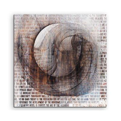 PaulSinusArt Enigma Abstrakt 1317 Painting Print on Canvas