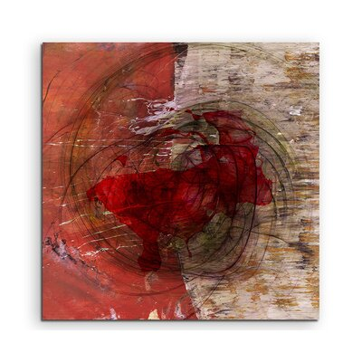 PaulSinusArt Enigma Abstrakt 1319 Painting Print on Canvas
