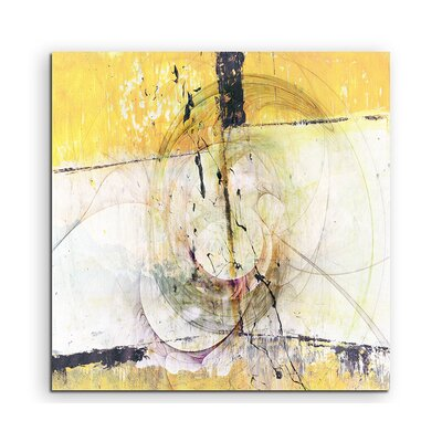 PaulSinusArt Enigma Abstrakt 1324 Painting Print on Canvas