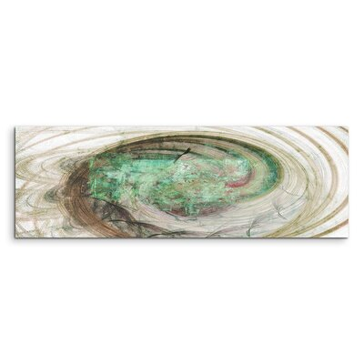 PaulSinusArt Enigma Panorama Abstrakt 1231 Painting Print on Canvas