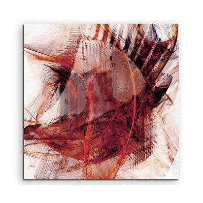 PaulSinusArt Enigma Abstract 1403 Photographic Print on Canvas