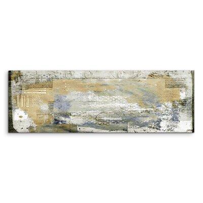 PaulSinusArt Enigma Panorama Abstrakt 955 Painting Print on Canvas