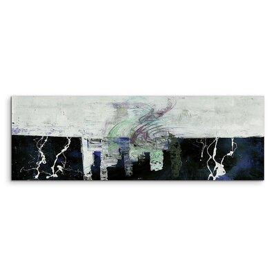 PaulSinusArt Enigma Panorama Abstrakt 1387 Painting Print on Canvas