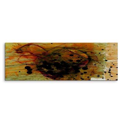 PaulSinusArt Enigma Panorama Abstrakt 1389 Painting Print on Canvas