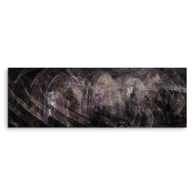 PaulSinusArt Enigma Panorama Abstrakt 1397 Painting Print on Canvas