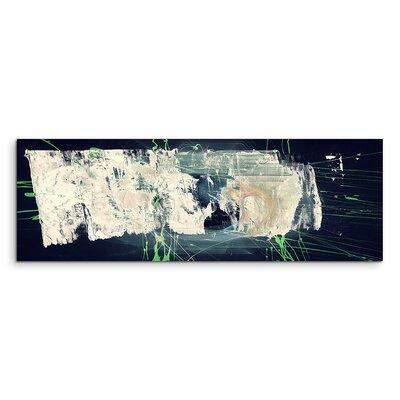 PaulSinusArt Enigma Panorama Abstrakt 1398 Painting Print on Canvas