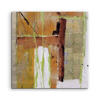 PaulSinusArt Enigma Abstrakt 597 Painting Print on Canvas