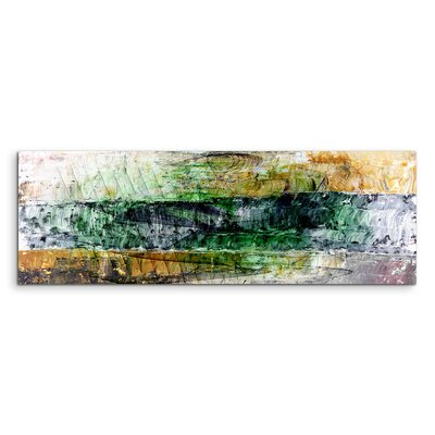 PaulSinusArt Enigma Panorama Abstrakt 1404 Painting Print on Canvas