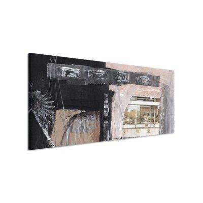 PaulSinusArt Enigma Panorama Abstrakt 598 Painting Print on Canvas