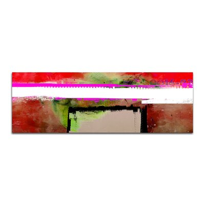 PaulSinusArt Enigma Panorama Abstrakt 120 Painting Print on Canvas