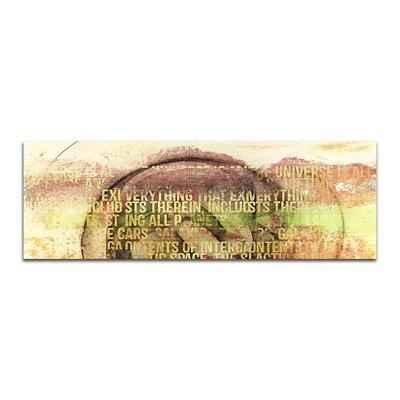 PaulSinusArt Enigma Panorama Abstrakt 121 Painting Print on Canvas