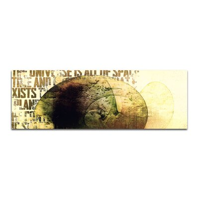 PaulSinusArt Enigma Panorama Abstrakt 126 Painting Print on Canvas