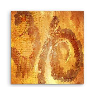 PaulSinusArt Enigma Abstrakt 604 Painting Print on Canvas