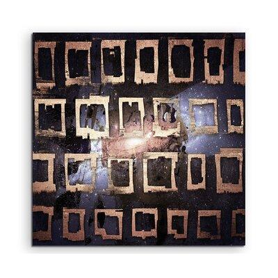 PaulSinusArt Enigma Abstrakt 817 Painting Print on Canvas