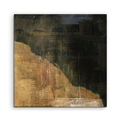 PaulSinusArt Enigma Abstrakt 818 Painting Print on Canvas