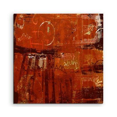PaulSinusArt Enigma Abstrakt 819 Painting Print on Canvas