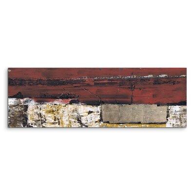 PaulSinusArt Enigma Panorama Abstrakt 600 Painting Print on Canvas