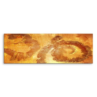 PaulSinusArt Enigma Panorama Abstrakt 604 Painting Print on Canvas