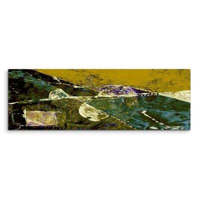 PaulSinusArt Enigma Panorama Abstrakt 608 Painting Print on Canvas