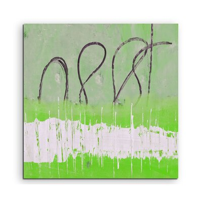 PaulSinusArt Enigma Abstrakt 614 Painting Print on Canvas