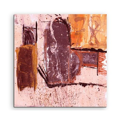 PaulSinusArt Enigma Abstrakt 617 Painting Print on Canvas