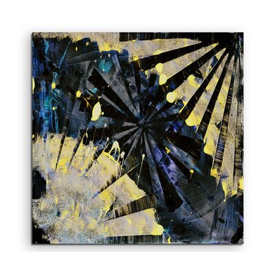 PaulSinusArt Enigma Abstrakt 828 Painting Print on Canvas