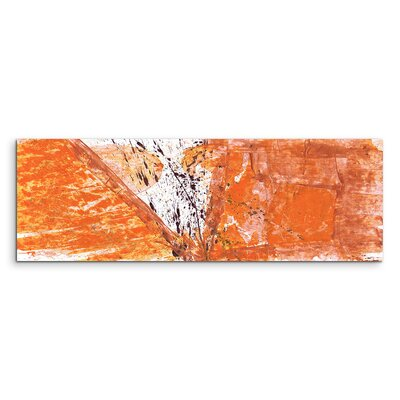 PaulSinusArt Enigma Panorama Abstrakt 611 Painting Print on Canvas