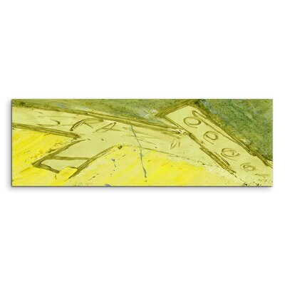 PaulSinusArt Enigma Panorama Abstrakt 613 Painting Print on Canvas