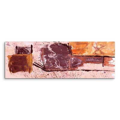 PaulSinusArt Enigma Panorama Abstrakt 617 Painting Print on Canvas