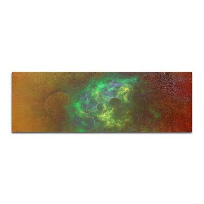 PaulSinusArt Enigma Panorama Abstrakt 020 Painting Print on Canvas