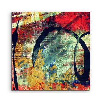 PaulSinusArt Enigma Abstrakt 963 Painting Print on Canvas