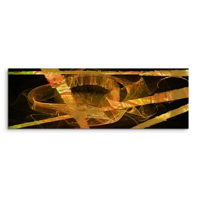 PaulSinusArt Enigma Panorama Abstrakt 791 Painting Print on Canvas