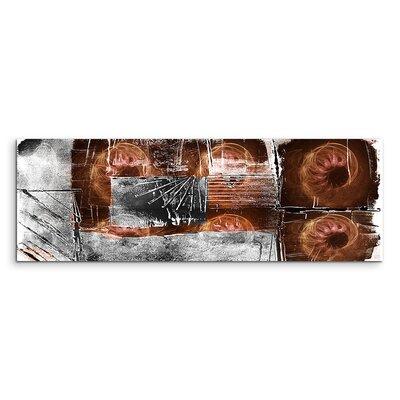 PaulSinusArt Enigma Panorama Abstrakt 793 Painting Print on Canvas