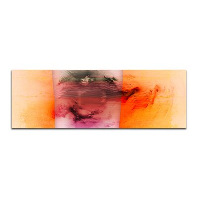 PaulSinusArt Enigma Panorama Abstrakt 131 Painting Print on Canvas