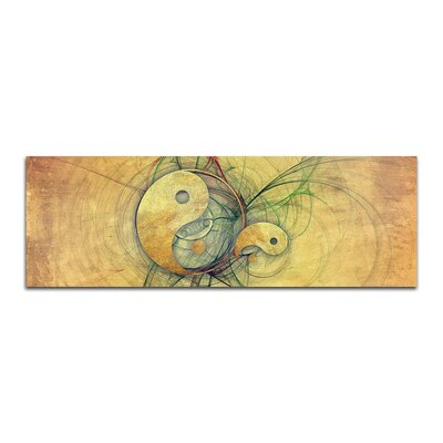 PaulSinusArt Enigma Panorama Abstrakt 132 Painting Print on Canvas
