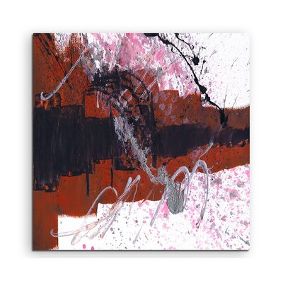 PaulSinusArt Enigma Abstrakt 925 Painting Print on Canvas