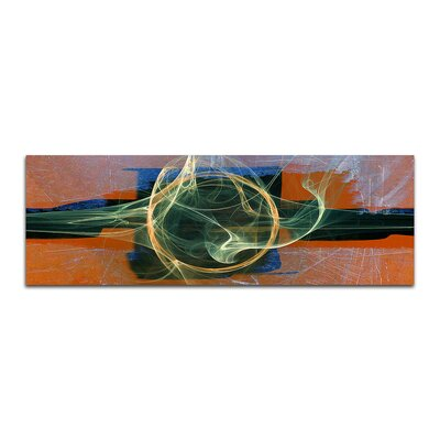 PaulSinusArt Enigma Panorama Abstrakt 030 Painting Print on Canvas