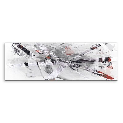 PaulSinusArt Enigma Panorama Abstrakt 799 Painting Print on Canvas