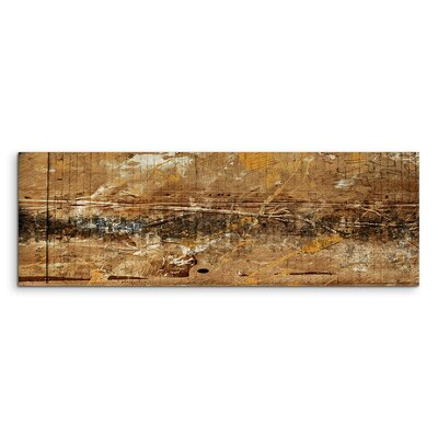 PaulSinusArt Enigma Panorama Abstrakt 801 Painting Print on Canvas